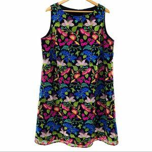 Tahari by Arthur Levine Floral Sleeveless Dress